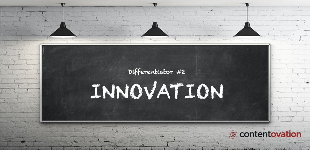 B2B content marketing differentiator – ContentOvation's innovation